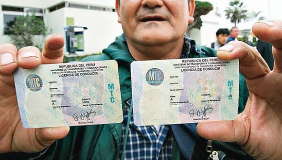 Mafias venden brevetes para motos y autos desde S/180 en Lima