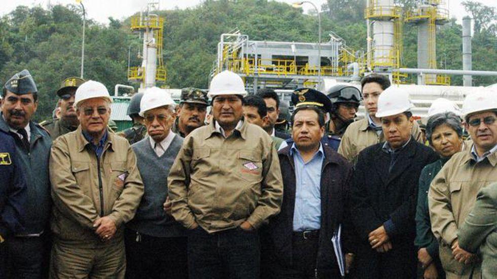 En 2006, Evo Morales decretó la nacionalización de los hidrocarburos de Bolivia y renegoció los contratos con las petroleras transnacionales. (Getty Images).