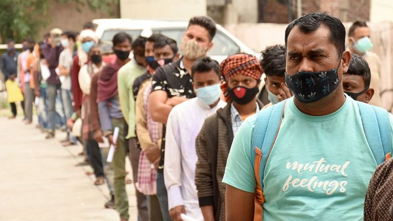 The delta variant, first identified in India, is highly contagious.