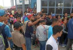 Venezolanos sin visa optan por presentar solicitudes de refugio para entrar al país