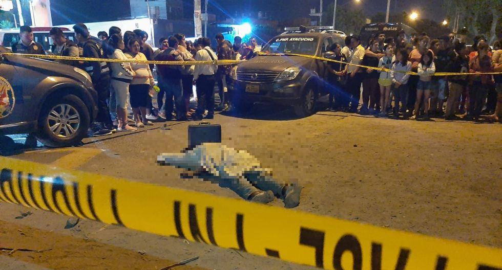 Obrero fue asesinado a puñaladas. Criminales lo interceptaron en un taxi. (Foto: PNP)