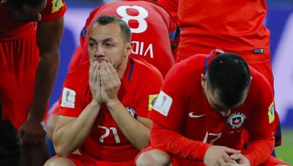 Marcelo Díaz, mediocampista de la selección chilena, comparó el dolor de su error en la final de la Copa Confederaciones con la muerte de su hermano. (Foto: AFP)