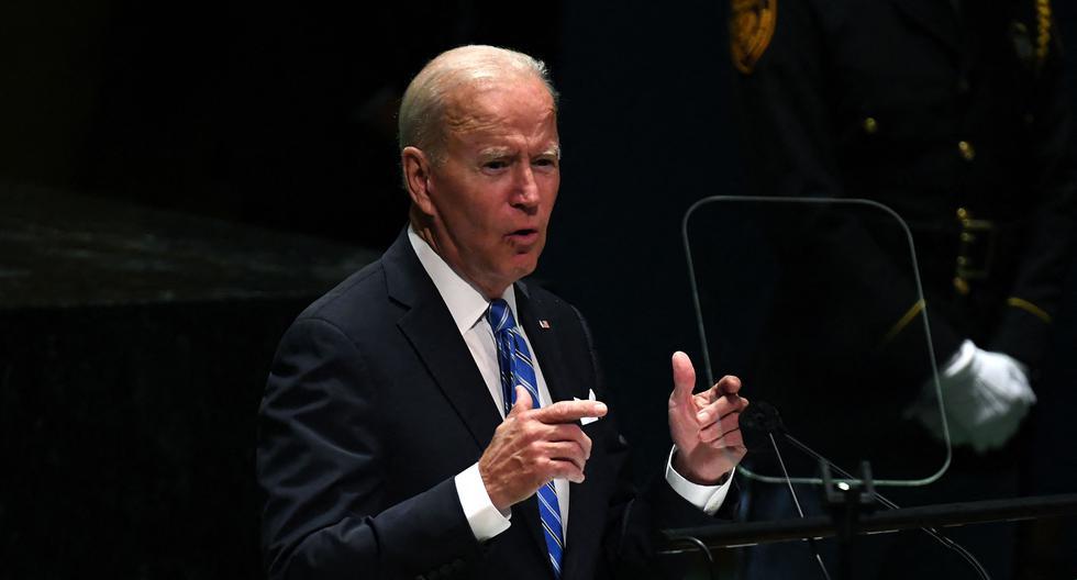 Joe Biden, presidente de Estados Unidos. (Foto: AFP)