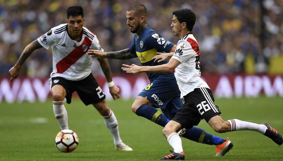 Boca vs. River EN DIRECTO vía FOX Sports: Conmebol postergó final de Libertadores con fecha aún no definida. (Foto: AFP)