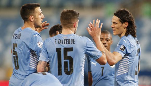 Uruguay consiguió su primer triunfo en el Grupo A de la Copa América. La próxima fecha enfrenta a Paraguay. (Foto: AFP)