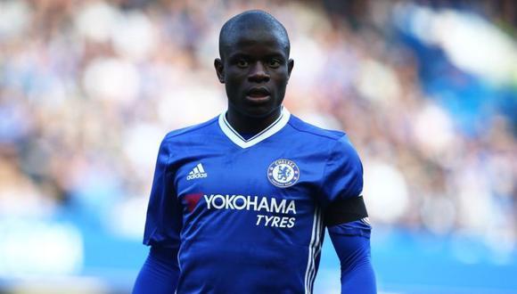 N'golo Kanté juega como centrocampista en el Chelsea. (Foto: AFP)