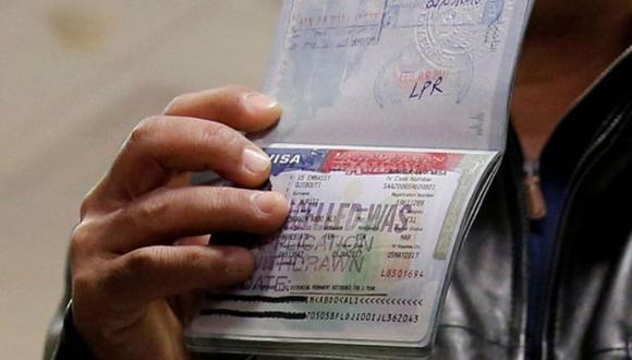 Lee esta nota si estás pensando en renovar tu visa para Estados Unidos. (Foto: Reuters)