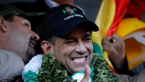 Luis Fernando Camacho, líder cívico de Santa Cruz. (REUTERS/David Mercado).