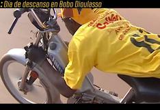 """El """"día de descanso"""" en Bobo Dioulasso en el Dakar 2004"""