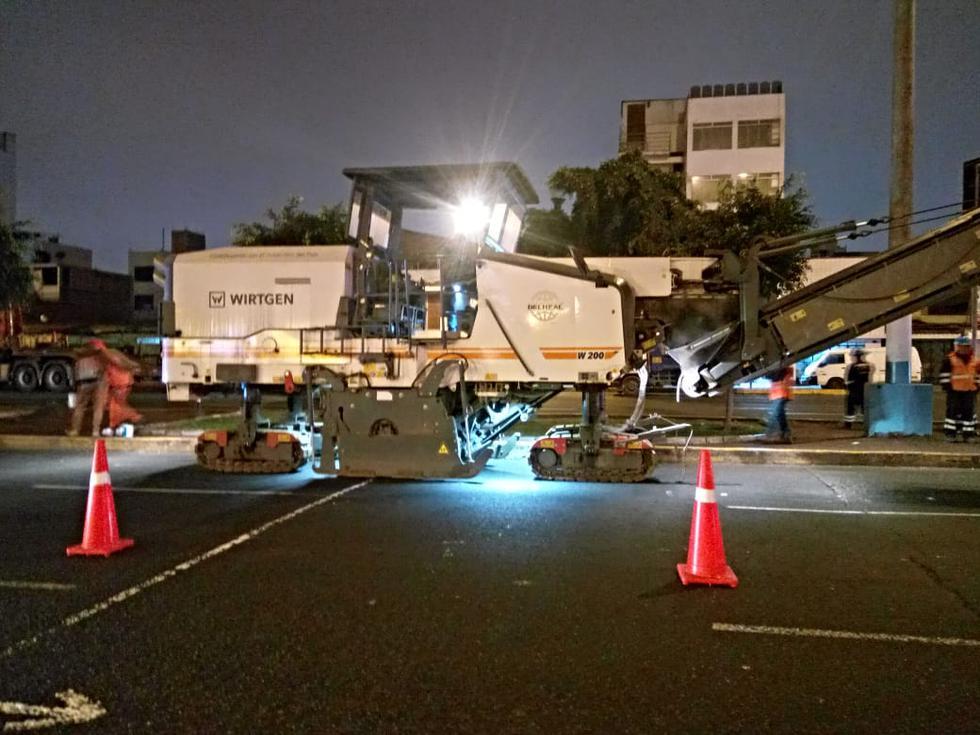 A pocos días de los Juegos Panamericanos y Parapanamericanos Lima 2019, la Municipalidad del Callao inició las obras de reparación de pistas en 11 puntos estratégicos de la ciudad. (Foto: Municipalidad del Callao)