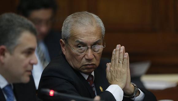 El fiscal de la Nación, Pedro Chávarry, se ausentará por tres días del Ministerio Público. (Foto: USI)