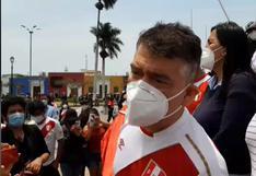 """Julio Guzmán responde a Merino: """"Le recomendaría que dedique su tiempo a preparar su defensa"""""""