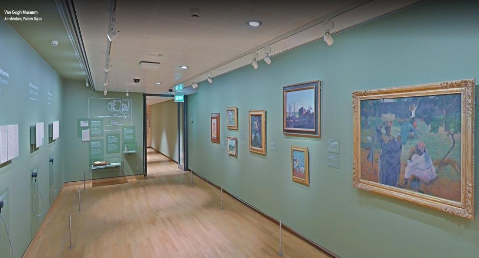 Al ingresar a www.artsandculture.google.com observarás los salones que guardan 500 dibujos y 200 cuadros del artista holandés. Pero si quieres apreciarlos en alta calidad y conocer sus características ingresa a www.vangoghmuseum.nl/en/search/collection