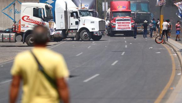 Se registraron problemas para transitar en algunas zonas de Barranca (Lima), así como en Casma (Áncash). (Foto: Hugo Curotto / @photo.gec)
