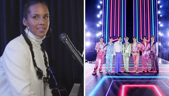 """Alicia Keys se ha confesado como una seguidora de BTS, quienes acaban de estrenar su disco """"BE"""" hace unos días.  (Foto: Instagram @aliciakeys / AFP)."""