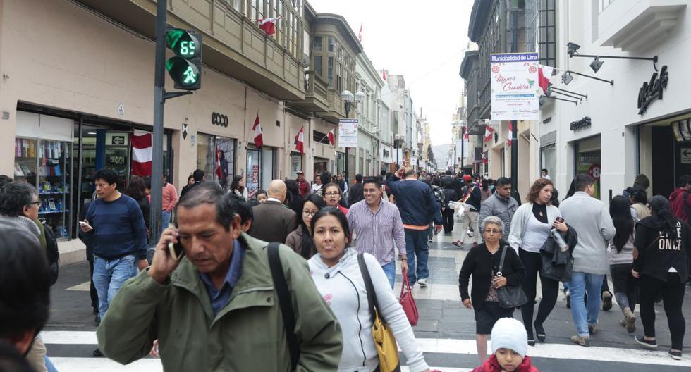 En Lima Oeste la temperatura mínima llegaría a 16°C, mientras que la máxima sería de 21°C, según el Senamhi. (Foto: GEC)