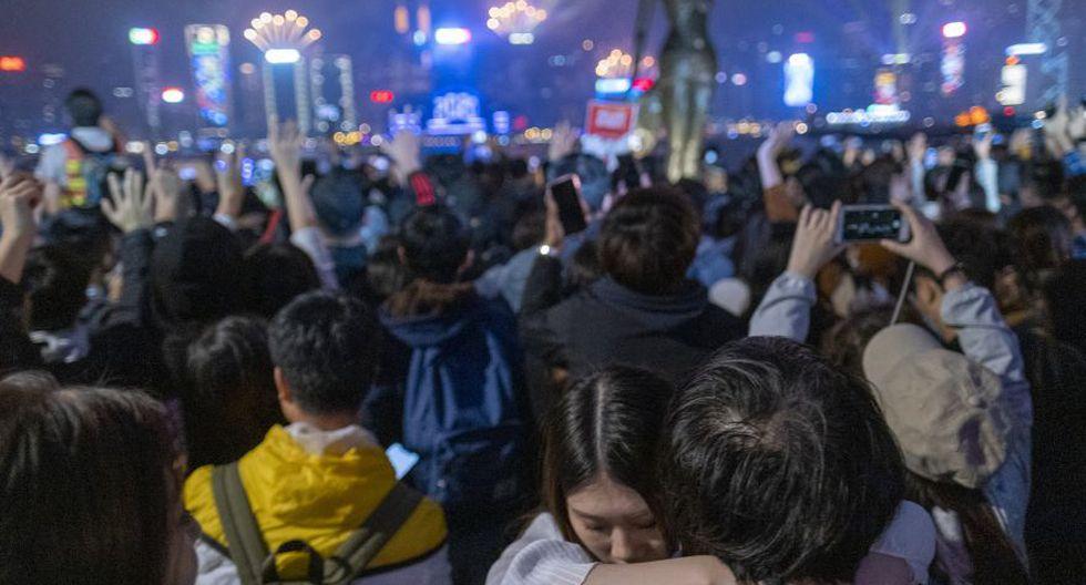 Los festejos de Nuevo Año en Hong Kong reflejan el carácter internacional de la ciudad estado y su herencia como antigua colonia británica. (Foto: Bloomberg).