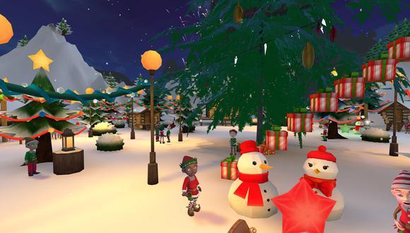 El Pueblo Mágico de Papá Noel se experimenta a través de un avatar, como si estuviera en un videojuego. El manejo de los personajes es de forma simpe e intuitiva. (Foto: Alligator Entertainment)