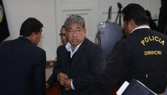 Poder Judicial amplía nueve meses prisión de Facundo Chinguel