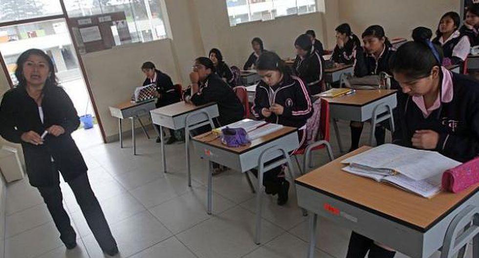 todos los docentes nombrados de educación básica y técnico-productiva deben acudir a su institución educativa, indicó el Minedu. (Foto: archivo)