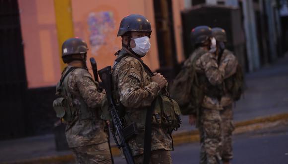El presidente Martín Vizcarra anunció el pasado 28 de julio que el trabajo conjunto de las Fuerzas Armadas (FF.AA.) y la Policía Nacional del Perú (PNP) durará hasta fin de año. (Foto: César Grados/GEC)