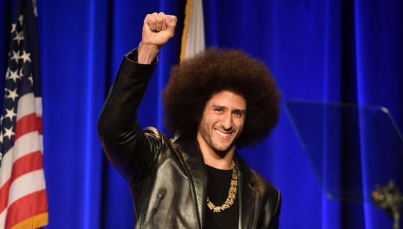 El propio Colin Kaepernick será el narrador de la serie. (Foto: AFP)