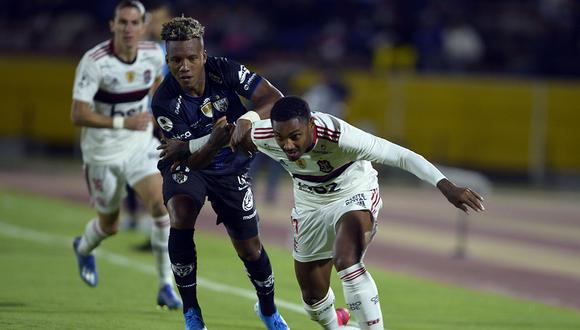 Independiente del Valle empató 2-2 con Flamengo por la Recopa Sudamericana. Revisa los resultados de todos los partidos de hoy, miércoles 19 de febrero. (Foto: AFP)