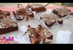Brownie marmoleado: receta fácil y deliciosa