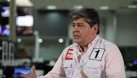 Torres Caro postula por quinta vez al Parlamento. Solo resultó elegido en el 2006, cuando fue con UPP-Partido Nacionalista. (Foto: Anthony Niño de Guzmán   El Comercio)