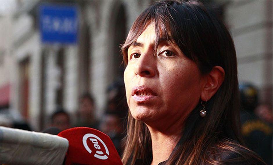 Giulliana Loza negó haber obstruido de manera alguna la justicia coaccionando a testigos.(Foto: Agencia Andina)