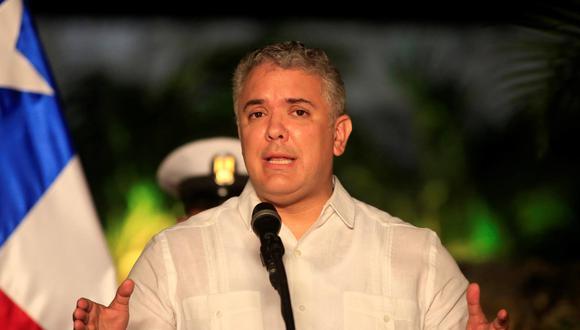 El presidente de Colombia, Iván Duque. (EFE/ Ricardo Maldonado Rozo).