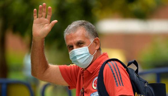 Carlos Queiroz se despidió de la selección colombiana mediante una carta. (Foto: AFP)