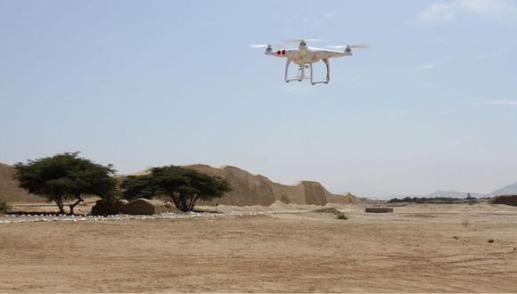 Con drones registrarán zonas de inundación por El Niño