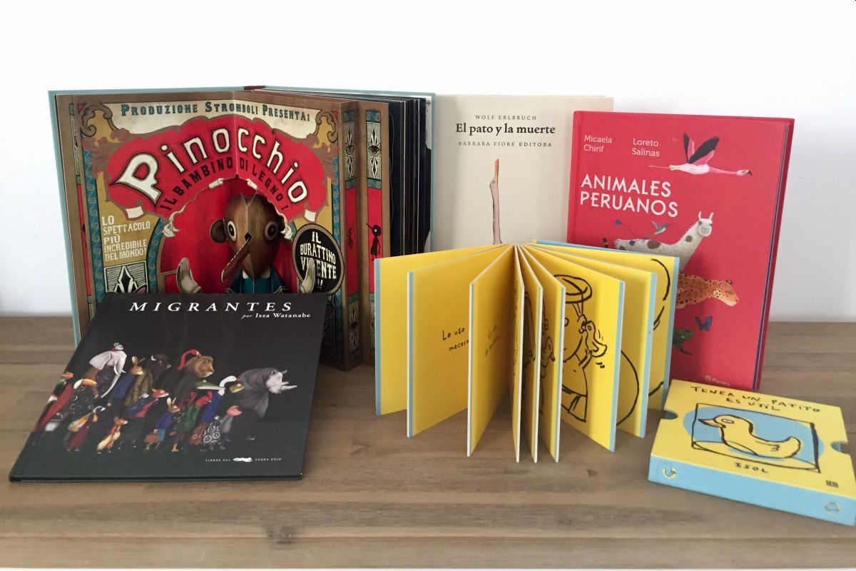 Libros de formatos y temáticas variadas son clave para estimular el pensamiento crítico. (Foto: Karina Villalba)