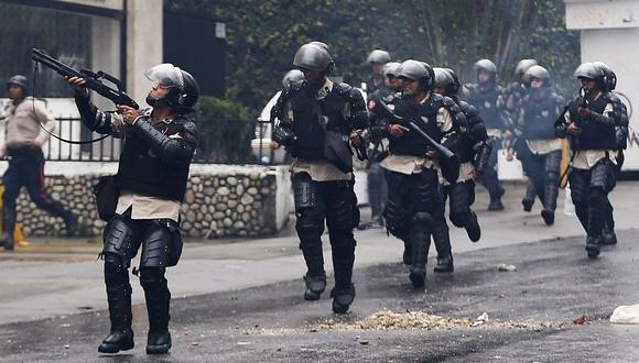 ONU critica uso excesivo de la fuerza del gobierno venezolano