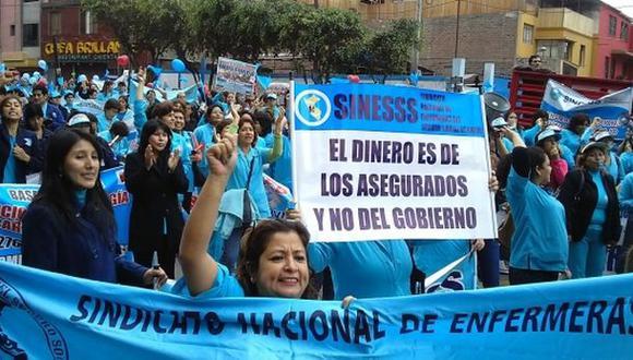 Enfermeras retomaron sus labores después de 54 días de huelga