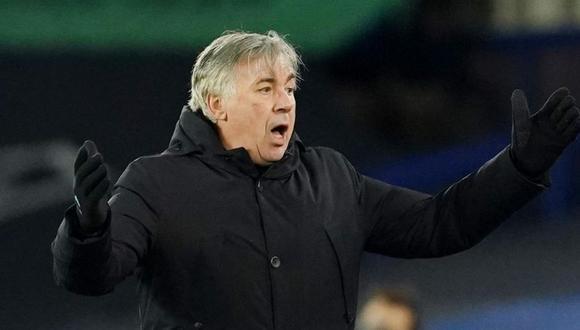 Carlo Ancelotti llegó a Everton en la temporada 2019. (Foto: Reuters)