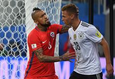 Copa Confederaciones: ¿Por qué razón Vidal y Kimmich discutieron en la final?
