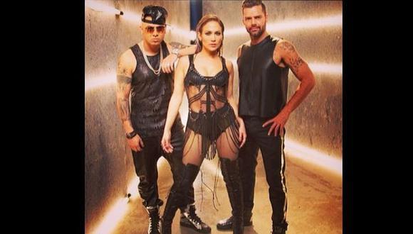 "Jennifer López y Ricky Martin ofrecen adelanto de ""Adrenalina"""