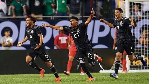 Jonathan dos Santos anotó el gol del título para México ante Estados Unidos en la Copa Oro 2019 | VIDEO. (Foto: AFP)
