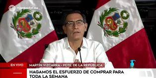 Coronavirus en Perú: Martín Vizcarra rechaza el machismo y pide compartir roles en el hogar
