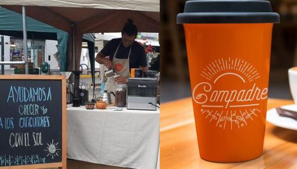 Compadre, una taza de café socialmente responsable