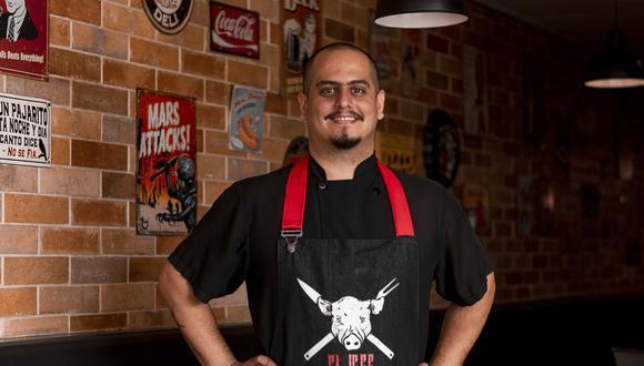 """Stefano Sapatier Merino, mejor conocido como Pitmaster """"El jefe"""". (Foto: BTH Studio)"""
