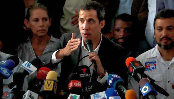 Guaidó había burlado una prohibición judicial de salida el pasado 22 de febrero, cuando asistió en Cúcuta a un megaconcierto para recaudar ayuda humanitaria. (Foto: Reuters)