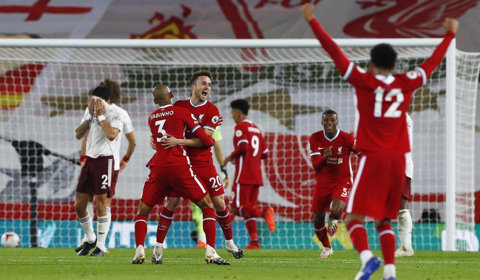 Liverpool vs. Arsenal: las imágenes del partido por la Premier League | Foto: EFE