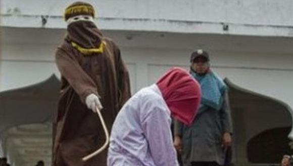 Malasia: las mujeres que fueron azotadas por tratar de tener relaciones homosexuales. (Foto referencial, AFP).