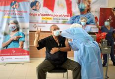 Lambayeque empezó jornada de vacunación al personal de la primera línea contra el COVID-19