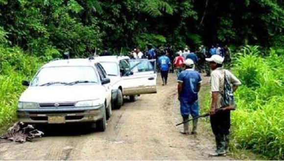 Moyobamba: delincuentes matan a presidente de rondas campesinas