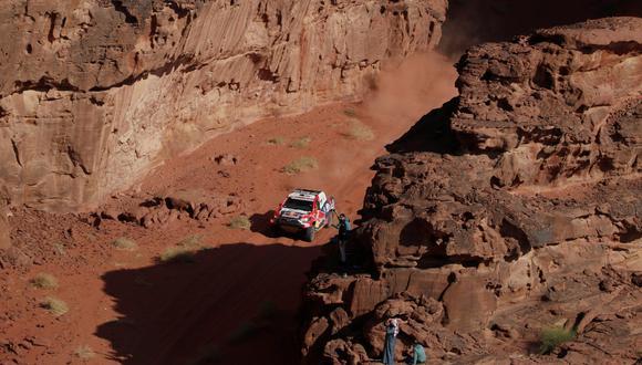 Nasser Al Attiyah (Toyota) ganó la octava etapa del Dakar 2021 | Foto: REUTERS