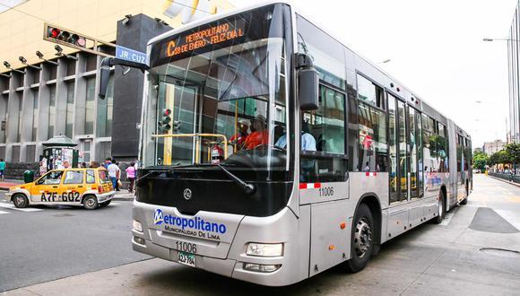 La ATU informa los nuevos horarios del servicio de transporte público desde este lunes 21 de junio   Foto: Archivo El Comercio